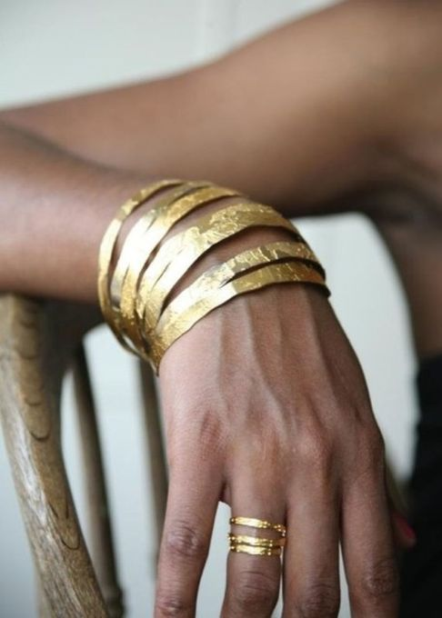 Stacked arm candies jewelry ideas 10