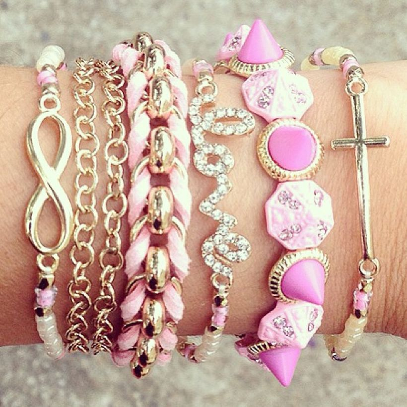 Stacked arm candies jewelry ideas 103