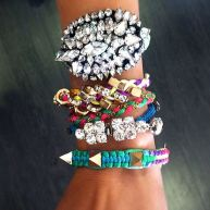 Stacked arm candies jewelry ideas 105