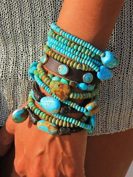 Stacked arm candies jewelry ideas 108