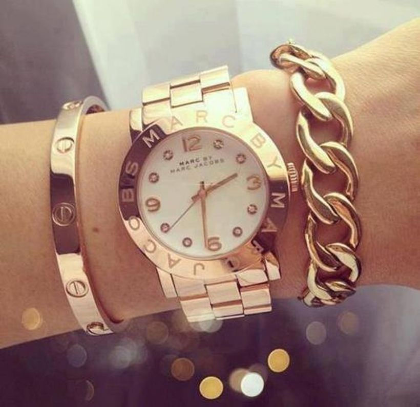 Stacked arm candies jewelry ideas 13