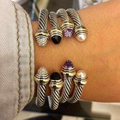 Stacked arm candies jewelry ideas 15