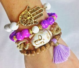 Stacked arm candies jewelry ideas 22