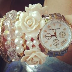 Stacked arm candies jewelry ideas 38
