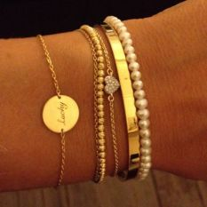 Stacked arm candies jewelry ideas 4