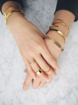 Stacked arm candies jewelry ideas 44