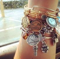 Stacked arm candies jewelry ideas 45
