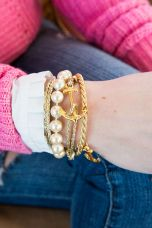 Stacked arm candies jewelry ideas 52