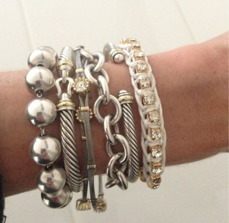 Stacked arm candies jewelry ideas 62