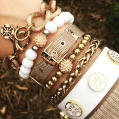 Stacked arm candies jewelry ideas 63