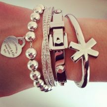 Stacked arm candies jewelry ideas 71