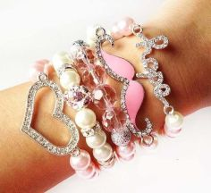 Stacked arm candies jewelry ideas 77