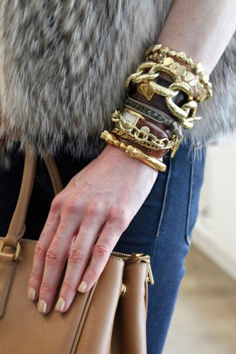 Stacked arm candies jewelry ideas 78