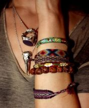 Stacked arm candies jewelry ideas 79