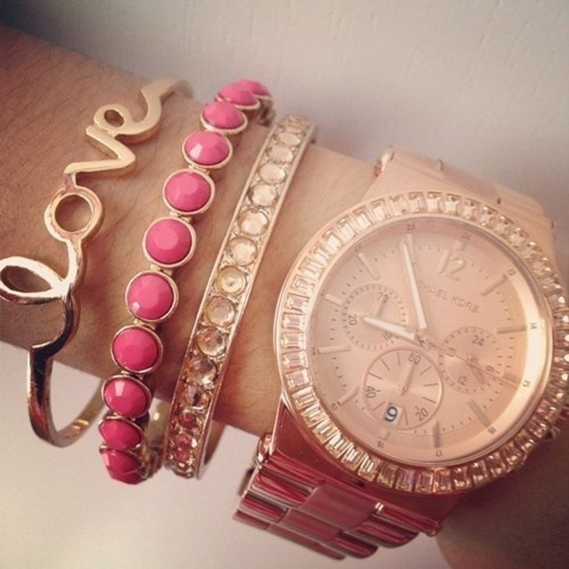 Stacked arm candies jewelry ideas 8