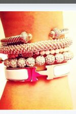 Stacked arm candies jewelry ideas 91