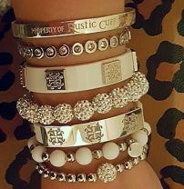 Stacked arm candies jewelry ideas 95