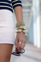 Stacked arm candies jewelry ideas 96