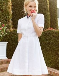 Stunning white shirtdresses outfits 29
