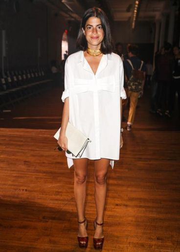 Stunning white shirtdresses outfits 33
