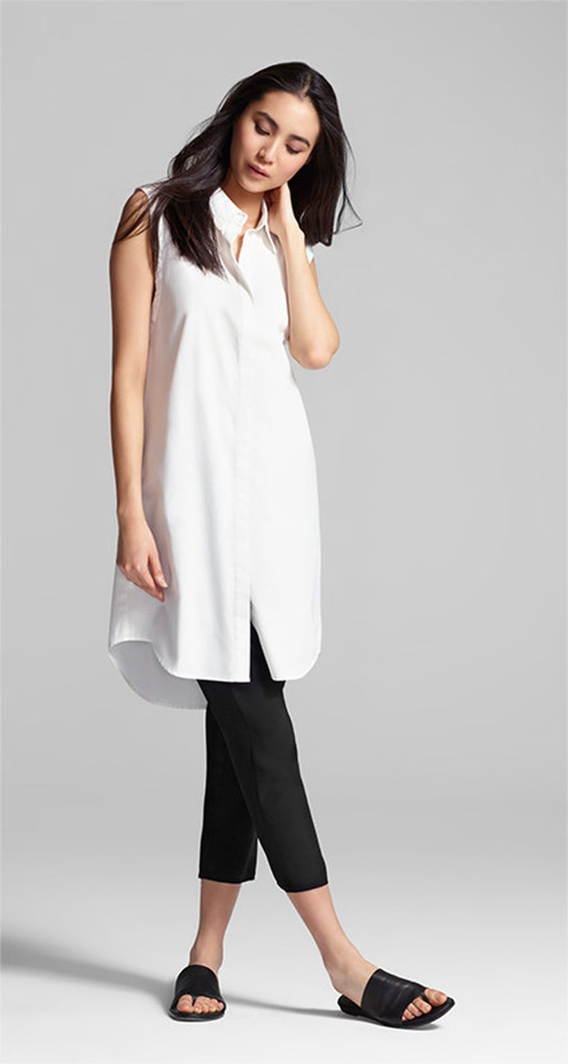 Stunning white shirtdresses outfits 9