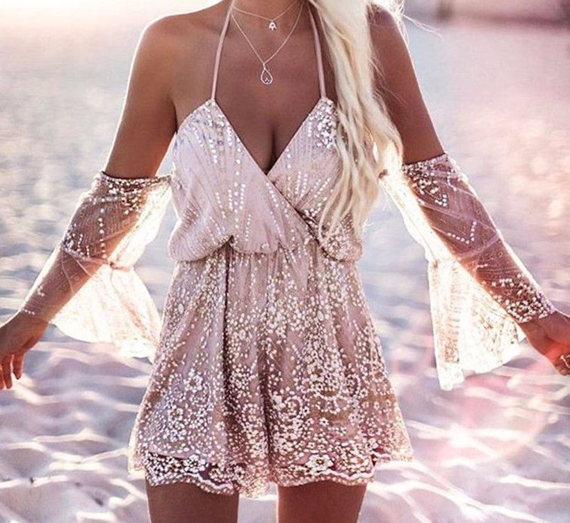 Stylish open shoulder dress outfits 2017 16