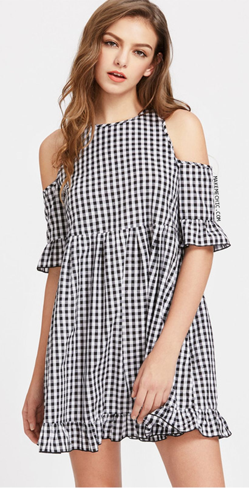 Stylish open shoulder dress outfits 2017 57