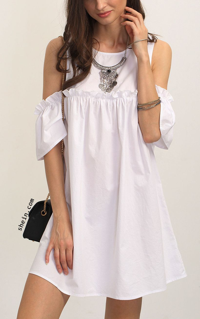 Stylish open shoulder dress outfits 2017 75
