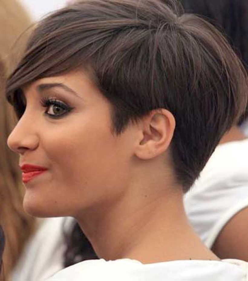 Stylist back view short pixie haircut hairstyle ideas 16