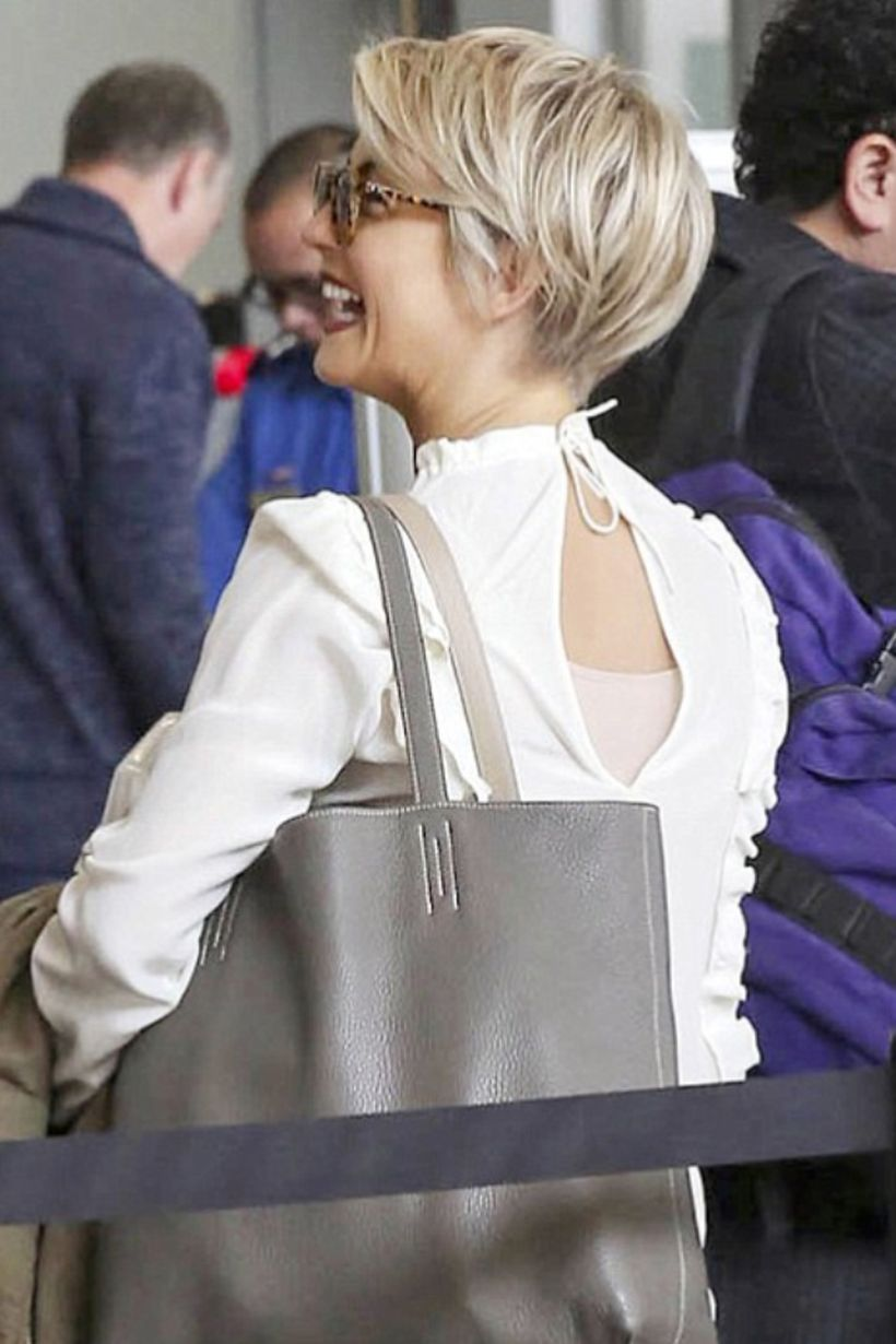 Stylist back view short pixie haircut hairstyle ideas 23
