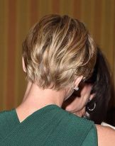 Stylist back view short pixie haircut hairstyle ideas 31