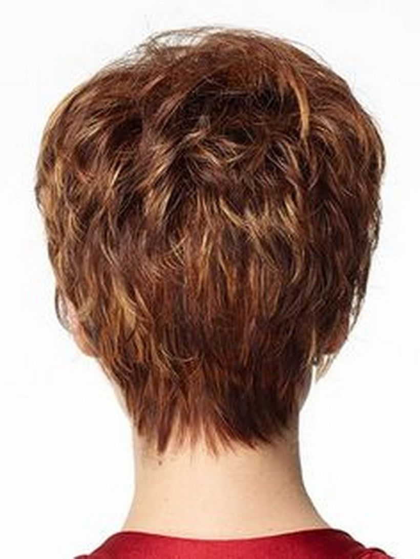 Stylist back view short pixie haircut hairstyle ideas 36