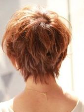 Stylist back view short pixie haircut hairstyle ideas 45