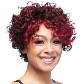 Stylist naturally curly haircuts ideas 23