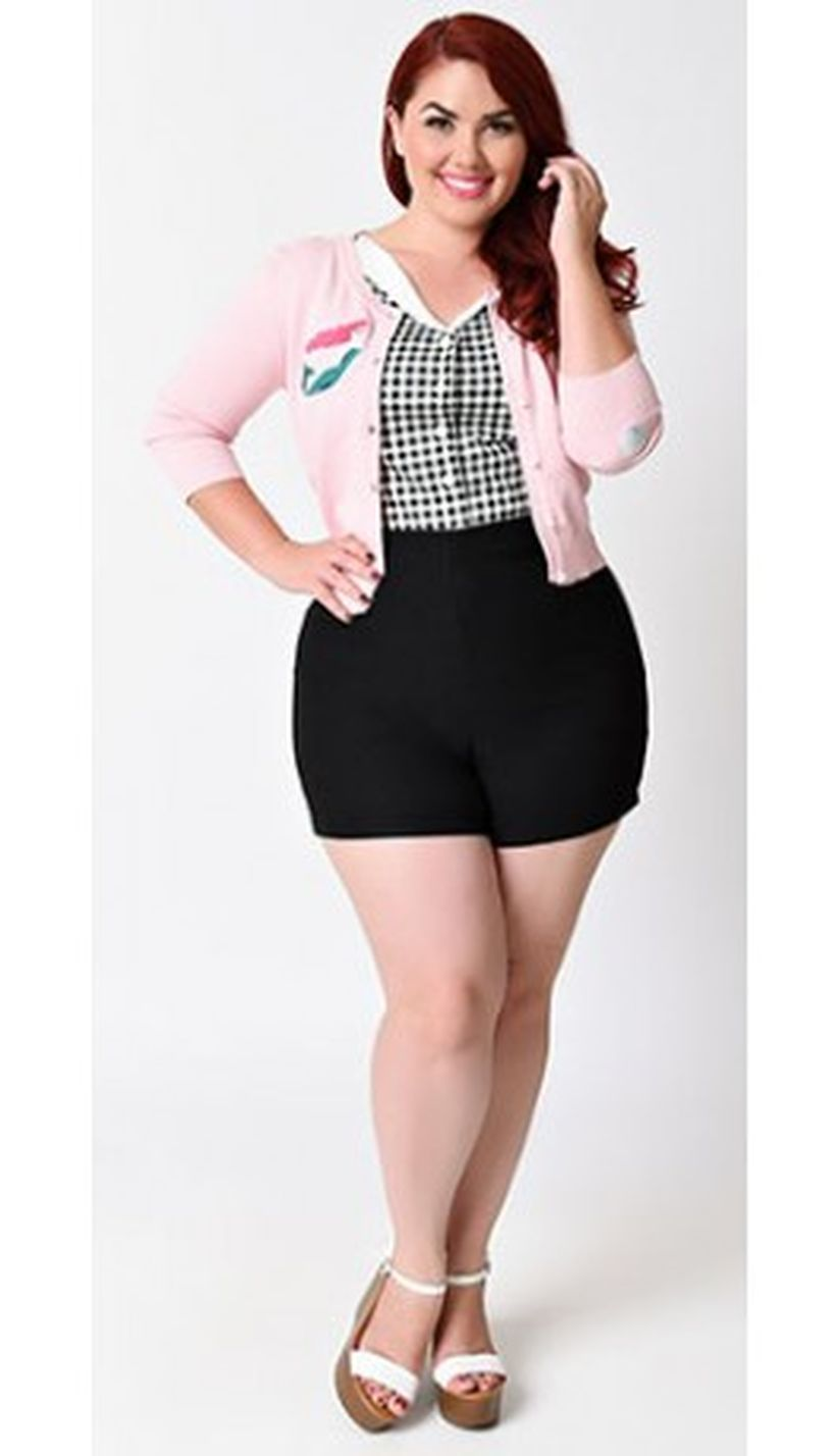 Vintage plus size rockabilly fashion style outfits ideas 1