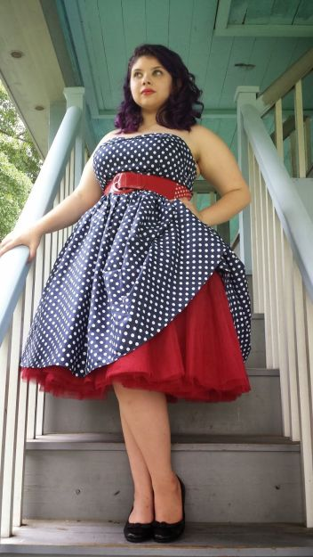 Vintage plus size rockabilly fashion style outfits ideas 29