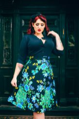 Vintage plus size rockabilly fashion style outfits ideas 34