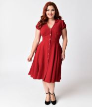 Vintage plus size rockabilly fashion style outfits ideas 45