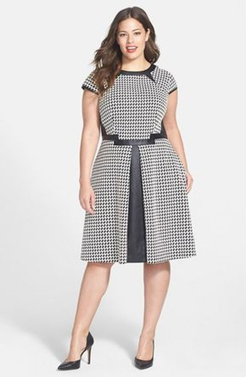 Vintage plus size rockabilly fashion style outfits ideas 6