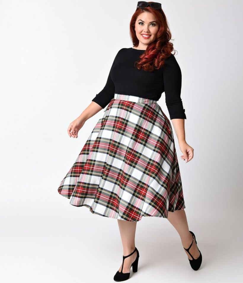 Vintage plus size rockabilly fashion style outfits ideas 71