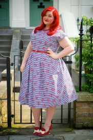 Vintage plus size rockabilly fashion style outfits ideas 79