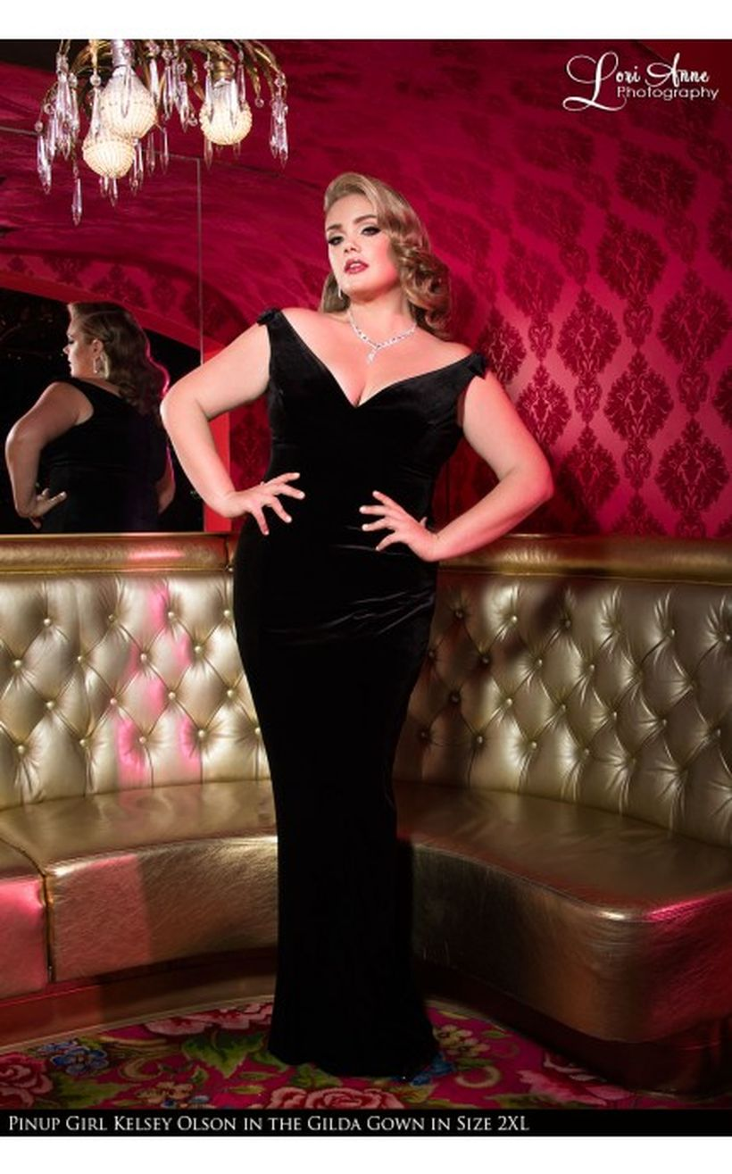 Vintage plus size rockabilly fashion style outfits ideas 91