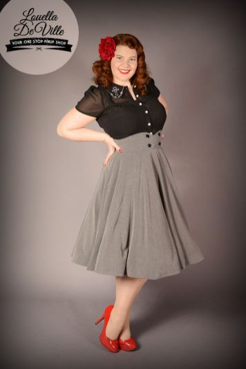 Vintage plus size rockabilly fashion style outfits ideas 95