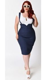 Vintage plus size rockabilly fashion style outfits ideas 98