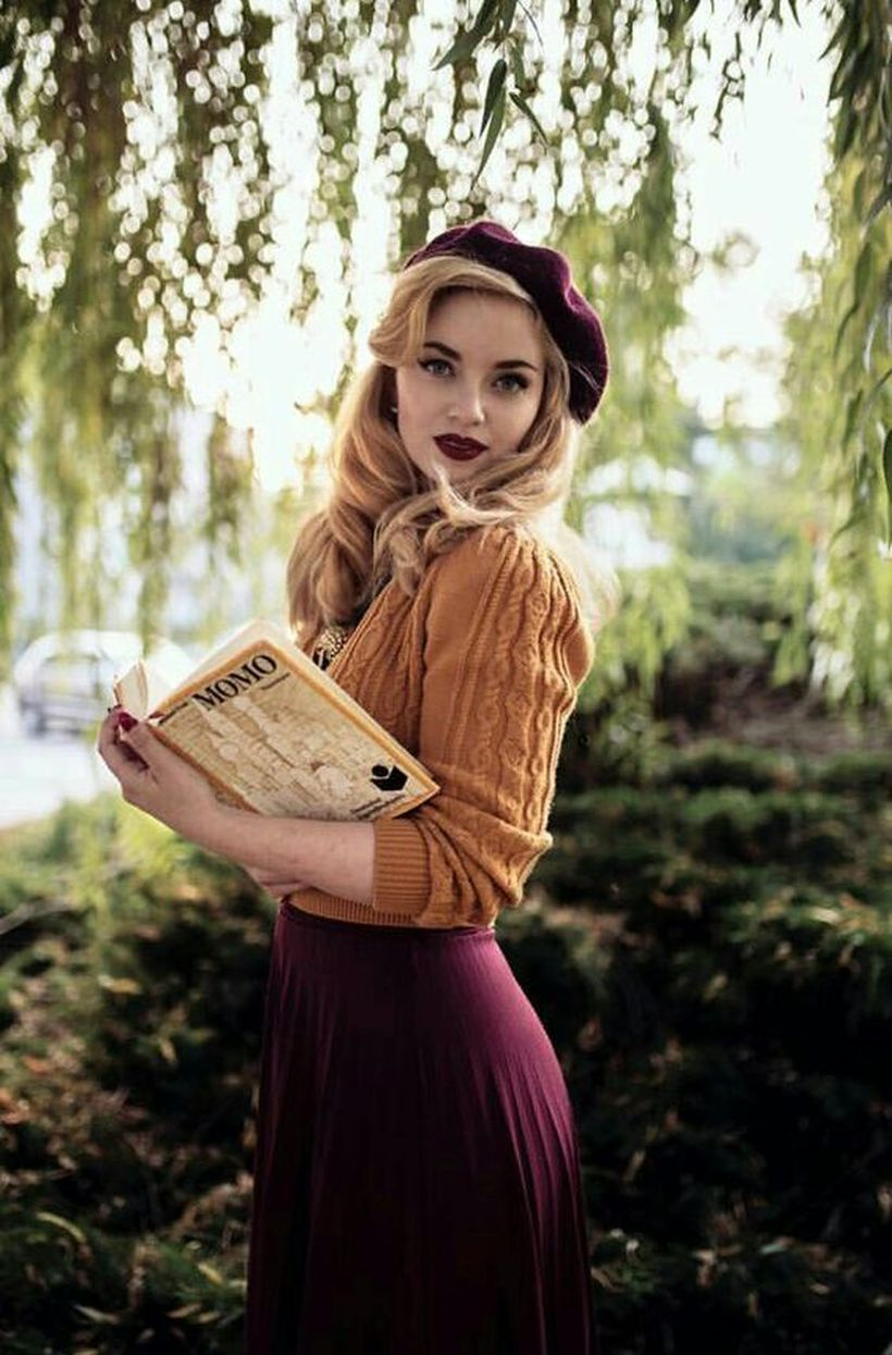 Vintage rockabilly fashion style outfits 16