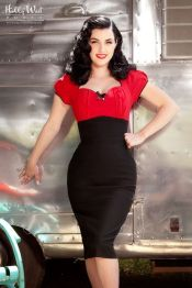 Vintage rockabilly fashion style outfits 20