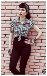 Vintage rockabilly fashion style outfits 22