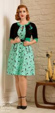 Vintage rockabilly fashion style outfits 3
