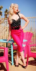 Vintage rockabilly fashion style outfits 41
