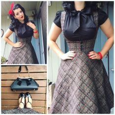 Vintage rockabilly fashion style outfits 45